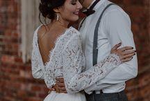 Industrial/Modern Wedding Inspirations