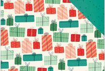 November/December 2015 Quirky Kits / November/December 2015 Quirky Kits, kit contents and ideas board.