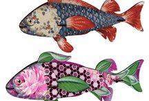 Fishy Art / by Noella Rosenthal