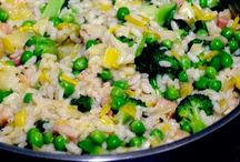 Rizotá, ryžové jedlá