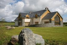 Trefor Wen / Replacement dwelling on Anglesey, North Wales. Timber frame construction.