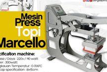 Jual Mesin Press TOPI MARCELLO Terbaru 700 Watt