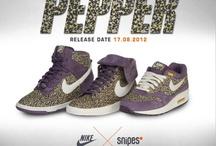 I love sneakers / Streetart, Nike,