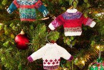 Новый год / Christmas knitting crochet