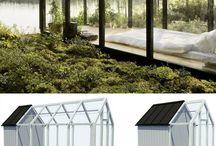 Hagestuer og drivhus