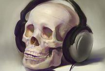 Skulls  / by Kamie Lynn