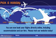 Flights Deals / Flight specials Please contact Pick A Holiday on 071 233 5897 | queries@pickaholiday.co.za