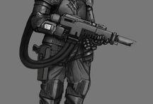 warhammer soldier