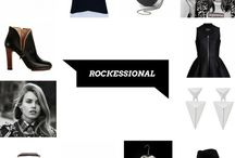 ROCK / #rock #outfit #fashion #style #carnetdemode #inspiration