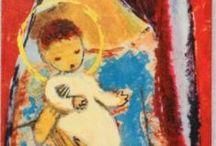 illustrazioni madonne
