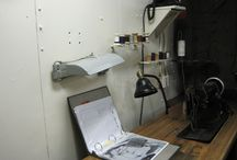 Tailor Shop, Cobbler Shop and Athletic Locker / A few places only available by docent led tours on the Fourth Deck.