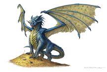 Dragons - Blue