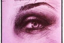 Kat Von D Sketch A Day oo1 / from Kat von D's first sketch a day book