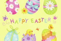 Happy Easter / Easter & bunny's ;)  all types things {I like}
