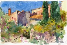 En Plein Air / Sketching and Drawing beneath the sun and the sky