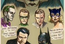 Classic Batman / The classic Batman doesn't wear black rubber.