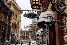Bucharest winter scenes
