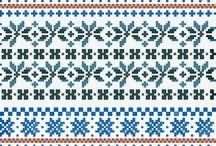 Strikkedrømmemønster / Stikking knitting