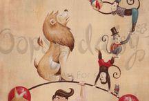 Funhouse animals
