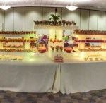 Light up Buffet Display