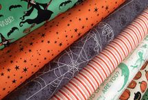 Halloween fabrics