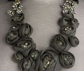 Fabric Necklace / by Yvonne Treur