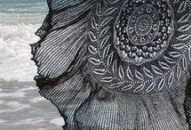Knitted - pi Shawls
