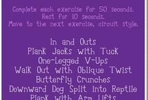 Workout Ideas / by Shelby Edwards