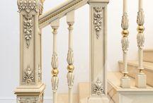 klasik merdiven trabzanlari ve süslemeler