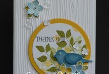 Bird Punch and Bird cards / by Linda Santy