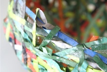 Recycled Art / Recycling art ideas for the Artroom