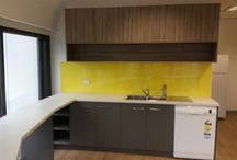 Acrylic Splashbacks for Commercial Applications / Innovative Splashbacks® are perfect for both residential and commercial applications, wet areas & virtually any vertical surface.