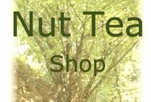 Goodness Grove Nut Tea Shop / The Goodness Grove Nut Tea Shop serves vegan milk drinks made from Kentish hazelnuts, known as cobnuts, which I harvest myself.  I also make hemp milk, almond milk, cashew milk and other varieties.
