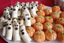 healthy anc cute halloween fruit