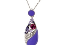 Crystal Necklace / by saint christine