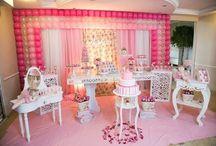 Festa Infantil Bailarina / Várias dicas e ideias lindas de decoração de festa infantil com tema Bailarina.