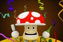 Wacky Spores Comics and Cartoons / Funny comics and cartoons set in the Wacky Spores Universe