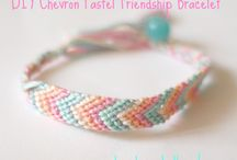 DIY bracelets; beaded, knotted, you name it!