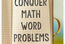 Maths - word problems