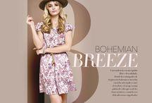 Colección BOHEMIAN BREEZE Otoño Invierno 2015