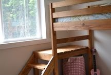 Loft beds / by Andrew Bolhous