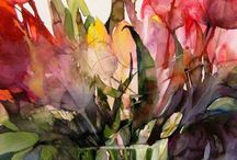 Wonderous Watercolours / Watercolour and Mixed Media Paintings and Illustration