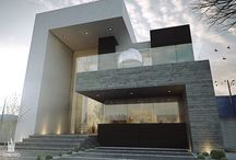 Houses / Contemporary residences with cool designs