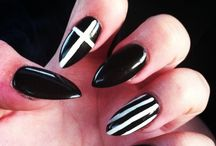 Nails for the future.. / Nail styles I've never tried, but may as well..