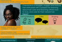 """This is Good Hair Workshop & Expo /   How many times have you heard it? """"Anno everybady ave good hair."""" Well, come see presentations on how to care for your tresses no matter the texture. Good hair is healthy hair.  Expect: Giveaways, free refreshments, shopping, our vibrant MC Elvy Soltau and loads more!"""