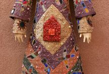 Lovely sewn dolls