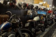 hangar à moto