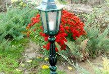 Spoljna rasveta - kandelaberi, fenjeri i lampe za dvorište - Outdoor Lighting - kandelaber, lanterns and lamps for garden