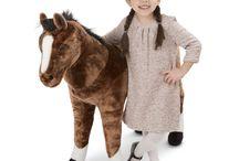 Peluş Ayaklı At