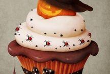 Halloween cupcakes etc
